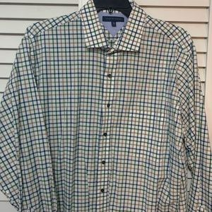 Men Tommy Hilfiger Long Sleeve Button Down Shirt